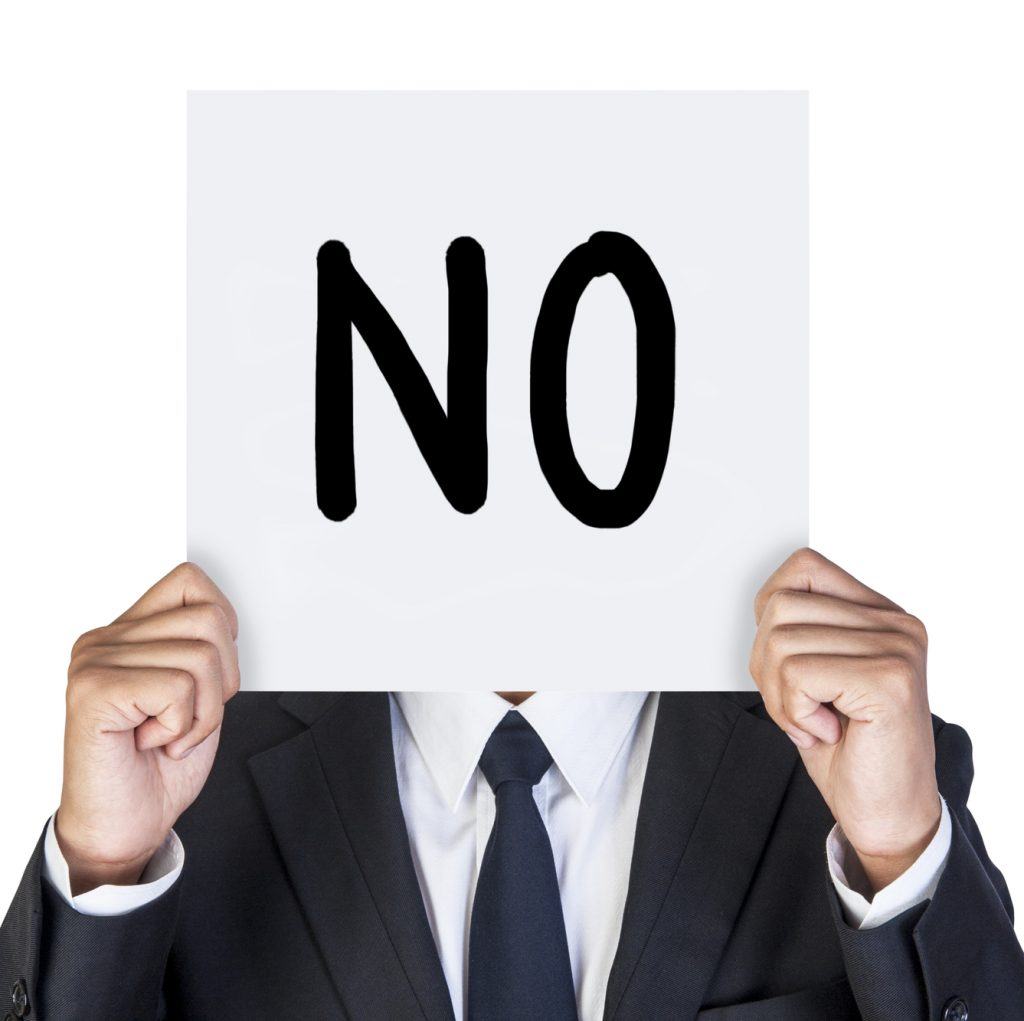 10 Ways To Say No Gracefully